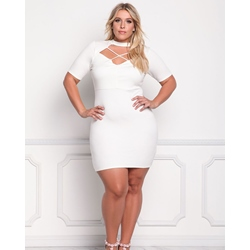 Shoespie Polyester Off-White Pullover Women's A-Line Dress