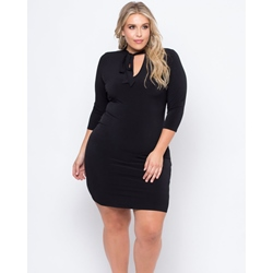 Shoespie Knee-Length Pullover Women's Bodycon Dress
