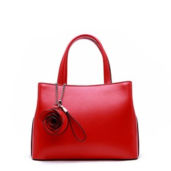 Shoespie Leather Zipper Women Handbag