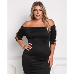 Shoespie Polyester Pullover A-Line Women's Bodycon Dress