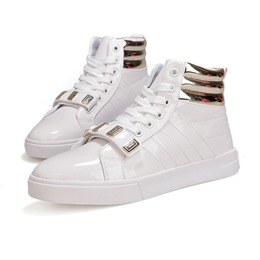 Thread Sequin Casual High Upper Men's Sneakers