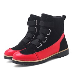 Casual Thread Velcro Men's Boots