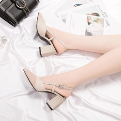 Shoespie Casual Slingback Strap Dress Sandals