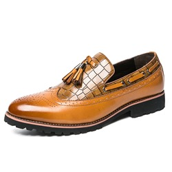Professional Fringe Brush Off Men's Oxfords