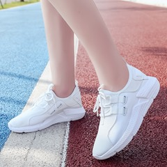 Shoespie Round Toe Lace-Up Women's Sneakers