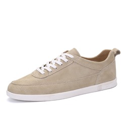Plain Lace-Up Casual Round Toe Men's Sneakers