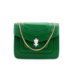 Shoespie Plain PU Chain Women Handbag