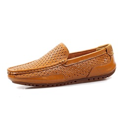 Hollow Slip-On Casual Men's Loafers