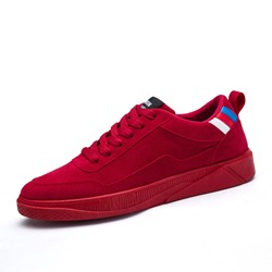 Lace-Up Color Block Casual Men's Sneakers
