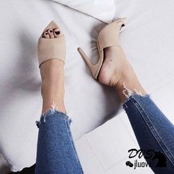 Shoespie Slip-On Sexy Stiletto Heel Mules Shoes