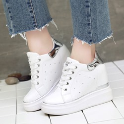 Women's Casual Platform Wedge Sneakers
