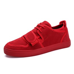 Comfortable Lace-Up Casual Men's Sneakers
