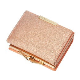 Shoespie Colorful Plain Magnetic Snap Sweet Standard Wallet