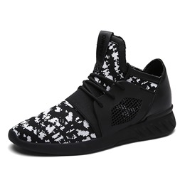 Mesh Comfortable Round Toe Men's Sneakers