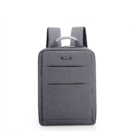 Shoespie Oxford Plain Unisex Backpack