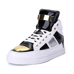 Shoespie High Upper Round Toe Men's Shoes