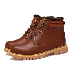 Shoespie Thread Casual Lace-Up Men's Boots
