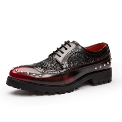 Beads Brush Off Men's Oxfords
