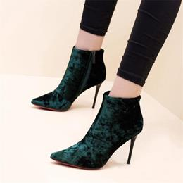 Suede Casual Pointed Toe Ankle Boots
