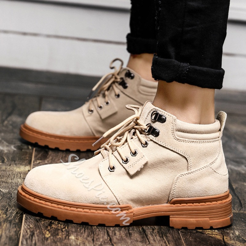 Shoespie Classic Lace-Up Men's Boots