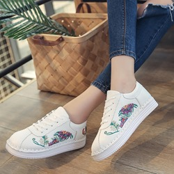 Shoespie Casual Embroidery Platform Women Sneakers