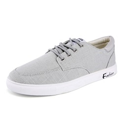 Shoespie Lace-Up Canvas Casual Men's Shoes