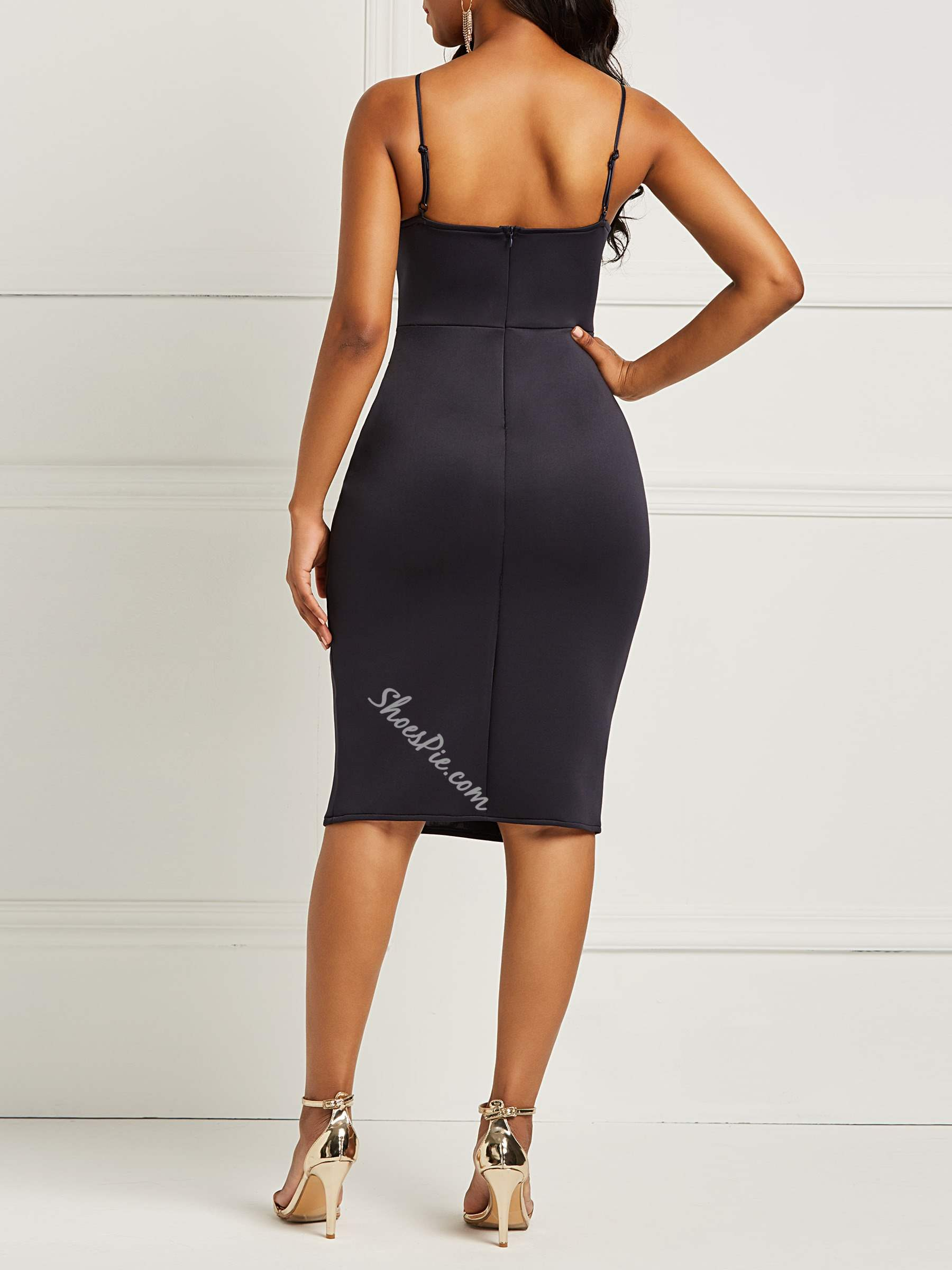 Shoespie Sexy Pullover Plain Women's Bodycon Dress
