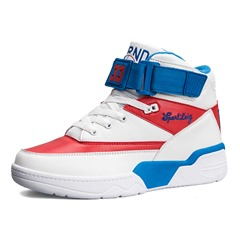 Shoespie Color Block High Upper Men's Sneakers