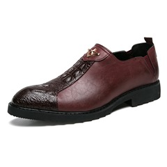 Professional Slip-On Round Toe Men's Boots