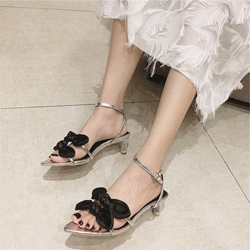BowAnkle Strap Open Toe Sexy Sandals