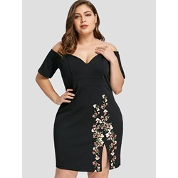 Shoespie Polyester Floral Regular Women's Bodycon Dress
