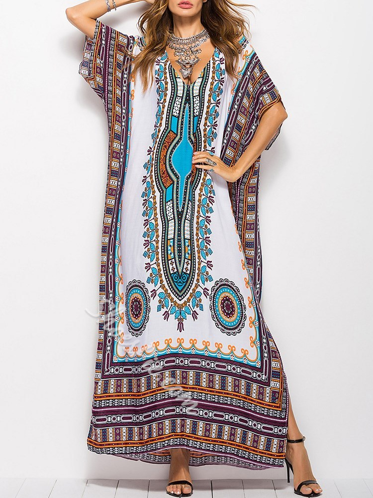 e580f1ee0fd Shoespie Western Ethnic Women s Maxi Dress- Shoespie.com