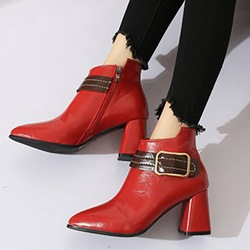 Shoespie Side Zipper Casual Fashion Ankle Boots