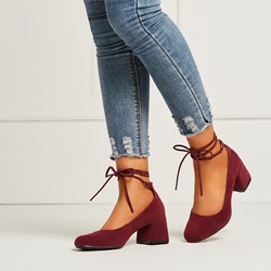 Shoespie Casual Street Style Lace Up Pumps