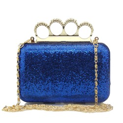 Shoespie Sequins Diamond Women Clutch