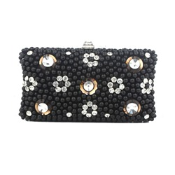 Shoespie Rhinestone Diamond Beads Women Clutch