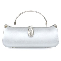 Shoespie Rectangle Rhinestone Chain Women Clutch