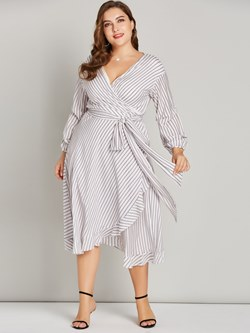 Shoespie Pleated Polyester Women's Maxi Dress