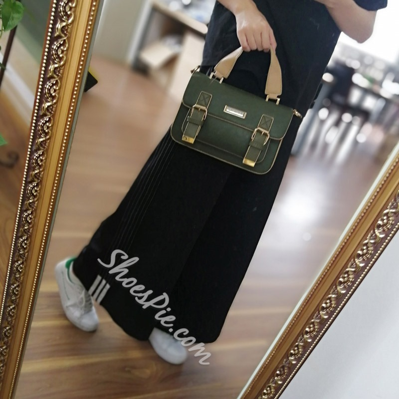 Shoespie Casual Rectangle Belt Decorated Tote Bag
