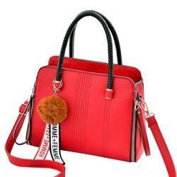Shoespie Casual Plain Soft Women Handbag