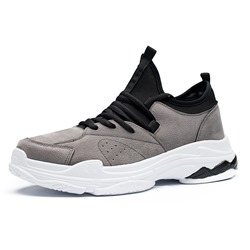 Low Upper Lace-Up Sneakers For Men