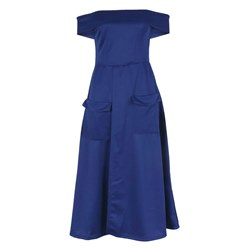 Shoespie Pocket Split Western Women's Maxi Dress