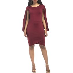 Shoespie Scoop Plain Western Women's Bodycon Dress