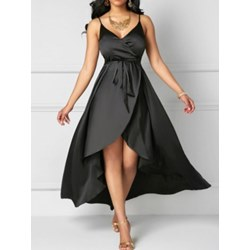 Shoespie Western Belt Women's Maxi Dress