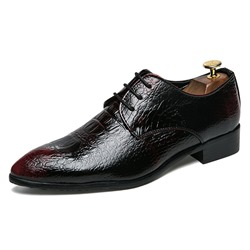 Lace-Up Pointed Toe Professional Men's Oxfords