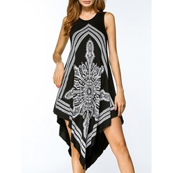 Shoespie Pullover Print Western Women's Maxi Dress