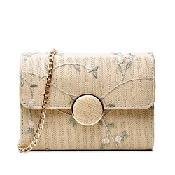 Shoespie Rectangle Floral Women Handbag