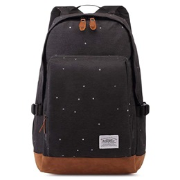 Shoespie Canvas Polka Dots Backpack