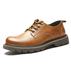 Shoespie Plain Classic Low Upper Men's Boots