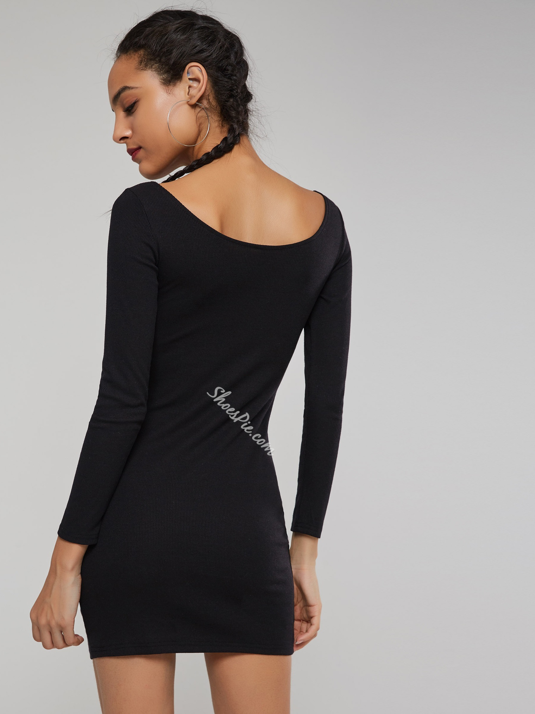 Long Sleeve Pullover Sexy Women's Sexy Dress